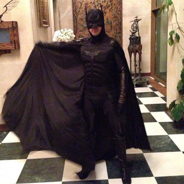 Максим Галкин в костюме супергероя