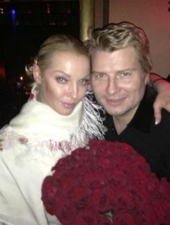 Анастасия Волочкова и Николай Басков