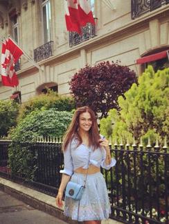 Алена Водонаева счастлива в Париже