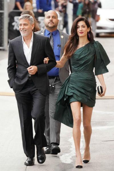 После свадьбы Джордж Клуни стал проводить все свободное время с супругой