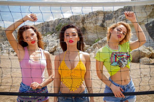 Не так давно группа вместе поработала и отдохнула на Кипре