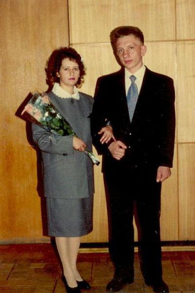 Алексей с женой Еленой