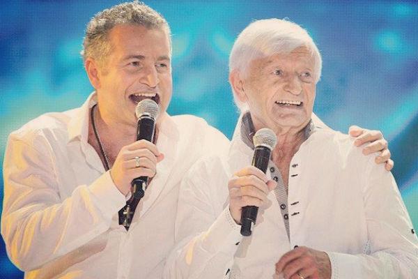 Недавно отцу певца исполнилось 83 года