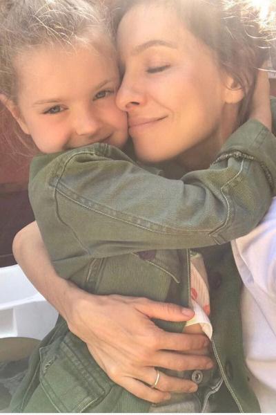 Елена со старшей дочерью Полиной