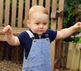 Принца Георга признали самым любимым ребенком Великобритании
