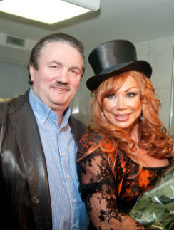 Виктор Захаров и Маша Распутина