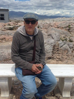 Игорь Матвиенко на отдыхе в Греции