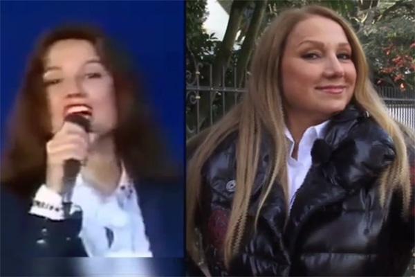 Галина Романова в 90-х и сейчас