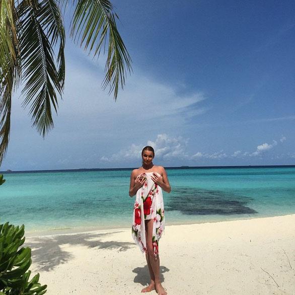 Анастасия Волочкова отправилась на свои любимые Мальдивы