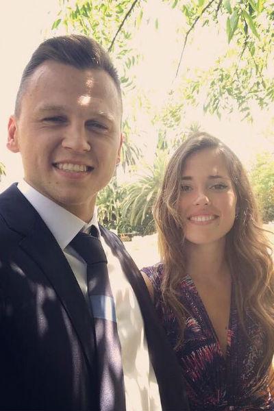 Денис Черышев с девушкой Кристиной