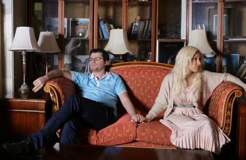 Гарих Харламов и его супруга Юлия