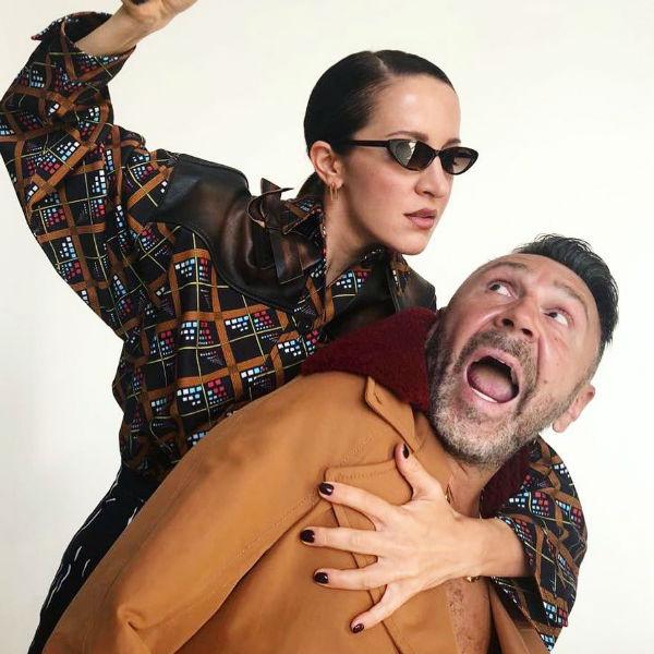 Матильда и Сергей Шнуров