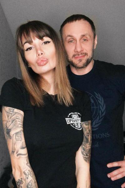 Сейчас Александр Липовой женат на модели Саше Кабаевой