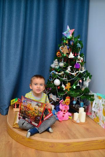 Новогодняя елка была украшена еще в начале декабря