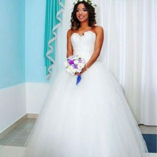 Свадебное платье Либерж выглядит шикарно