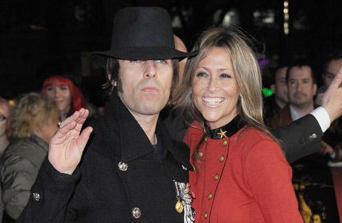 Лиам с женой Николь