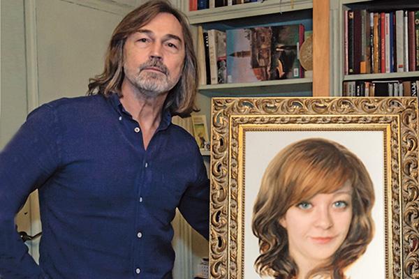 Никас Сафронов подарил своей поклоннице ее портрет