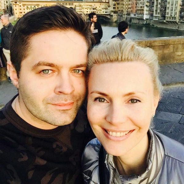 Сергей Волчков с супругой Натальей