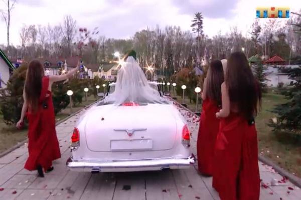 Ольга приехала на площадку в роскошной машине