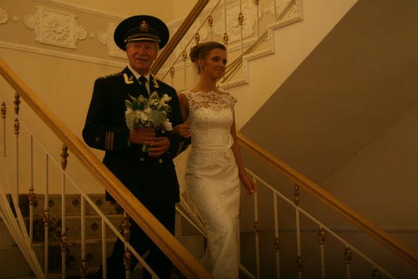 Актер Иван Краско и Наталья месяц назад сыграли свадьбу
