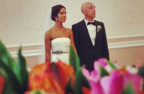 Сергей Гореликов с невестой Марией
