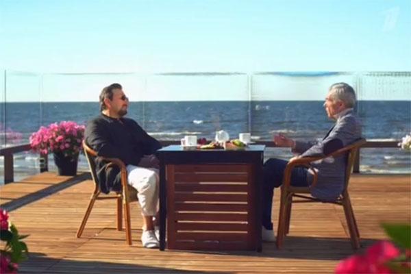 Стас Михайлов и Юрий Николаев встретились на берегу Балтийского моря в Юрмале