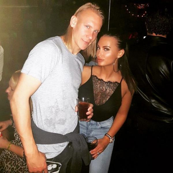Домагой Вида с женой Иваной