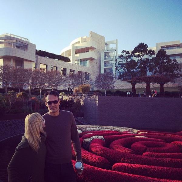 Кристина Орбакайте с мужем на отдыхе в Лос-Анджелесе