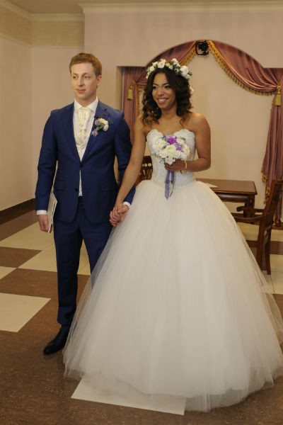 Фото свадьбы участников дом-2