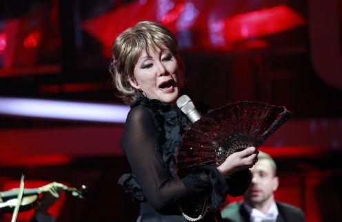 Анита исполнила оперную арию
