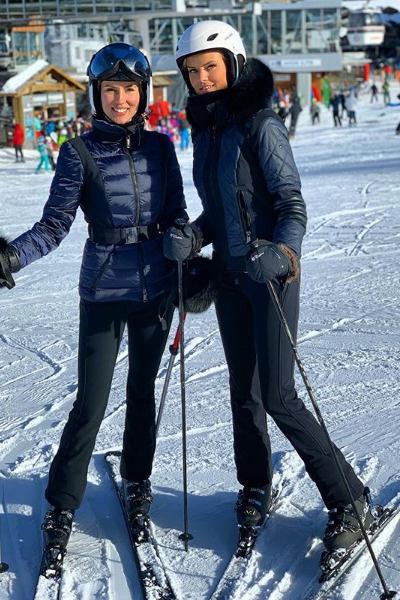 Новый год жена Абызова с сестрой встретила в Куршевеле