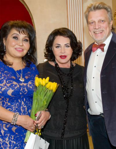 Клара Кузденбаева, Надежда Бабкина и Владимир Кузнецов