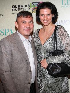 Константин Цзю с супругой Татьяной