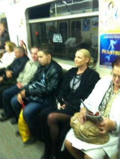 Балерина обещала регулярно пользоваться этим видом общественного транспорта