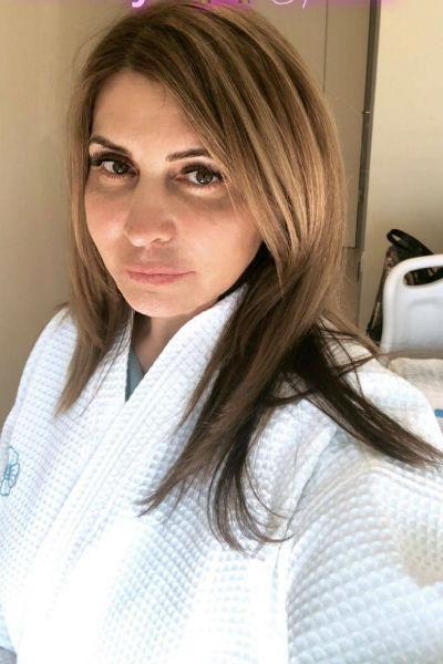 Ирина тщательно следит за своей внешностью