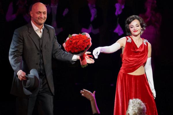 Гоша Куценко с Теоной Дольниковой в мюзикле Pola Negri
