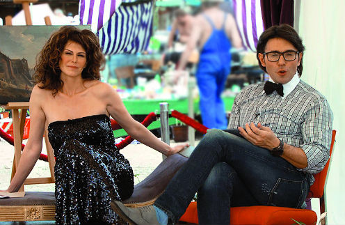 Моей соведущей в программе «Барахолка» станет актриса Регина Мянник