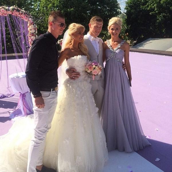 Жених и невеста с Дмитрием Тарасовым и Ольгой Бузовой