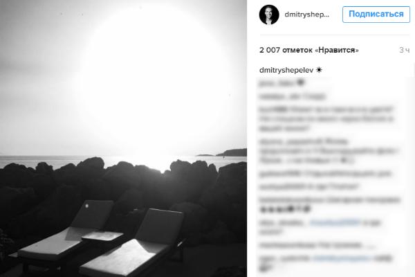 Пейзажи из микроблога Дмитрия Шепелева