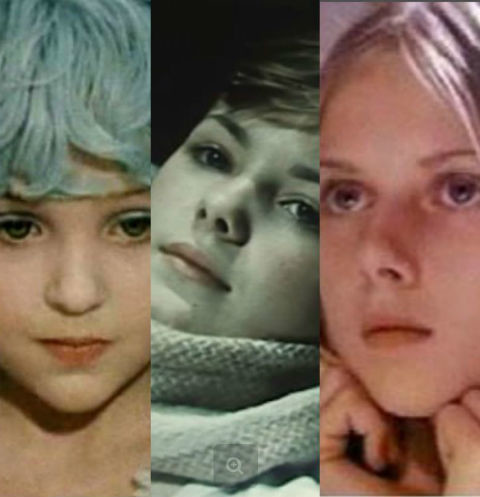 Самые красивые девочки советского кино