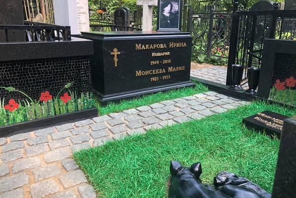 Могила Ирины Макаровой