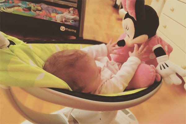 Маленькой Оливии 15 декабря исполнится пять месяцев