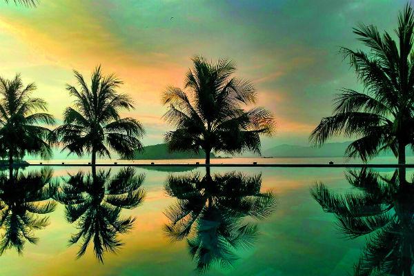 Закаты в Нячанге потрясающие