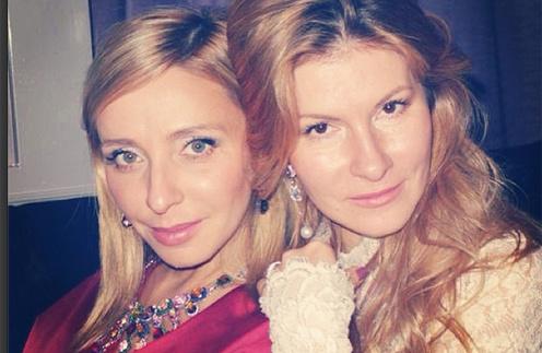 Татьяна Навка в украшениях своего бренда с Людмилой Митволь