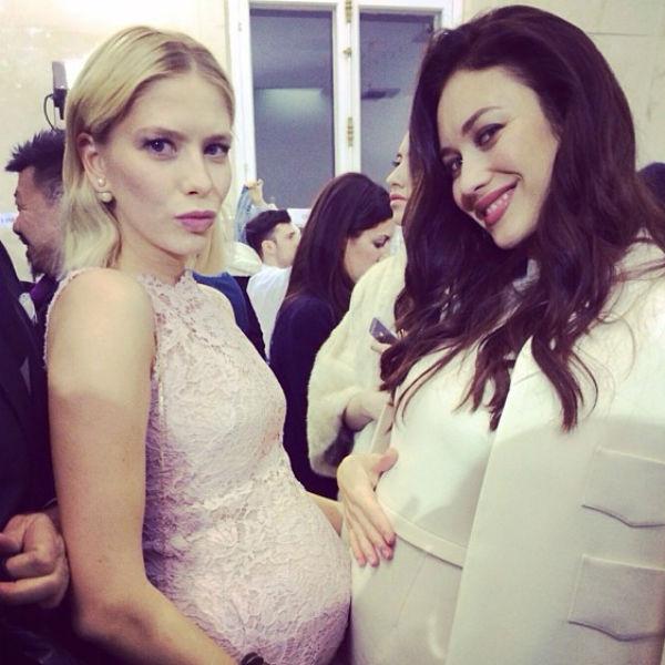Елена Перминова и Ольга Куриленко опубликовали шутливый снимок