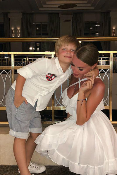 Сын является главной радостью звездной мамы