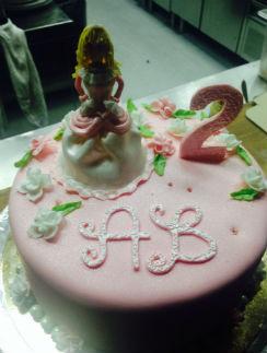 Торт у Аллы-Виктории был именным