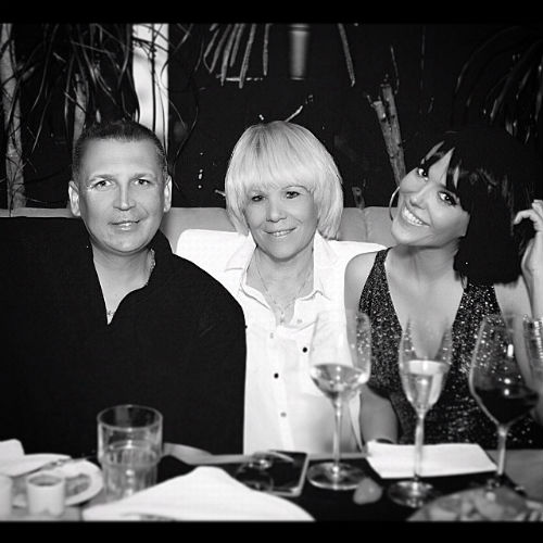 Таня Терешина с братом и мамой