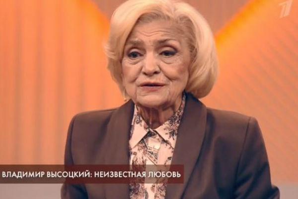 Аза Лихитченко легкомысленно отнеслась к ухаживаниям Высоцкого