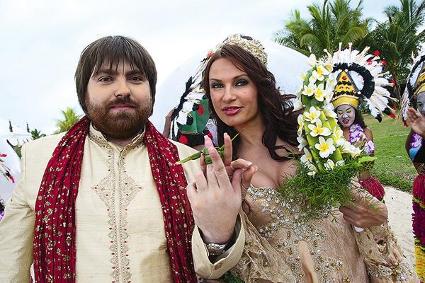 На свадьбе Эвелины Бледанс и Александра Семина не было традиционного обмена кольцами